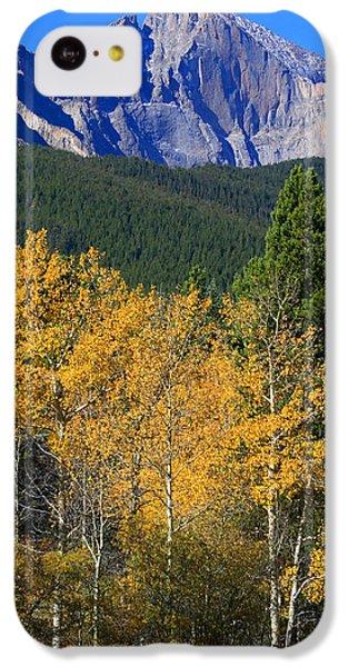 Autumn Aspens And Longs Peak IPhone 5c Case