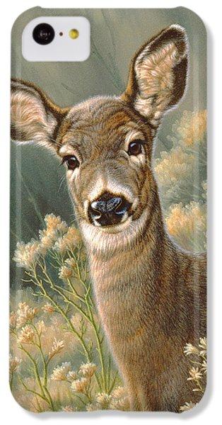 Deer iPhone 5c Case - Autumn Fawn-blacktail by Paul Krapf