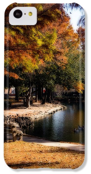Autumn On Theta IPhone 5c Case