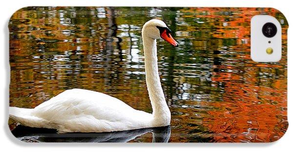 Autumn Swan IPhone 5c Case by Lourry Legarde