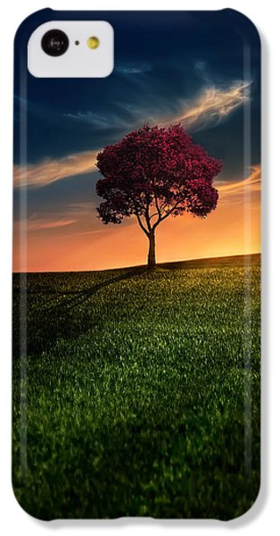 iPhone 5c Case - Awesome Solitude by Bess Hamiti