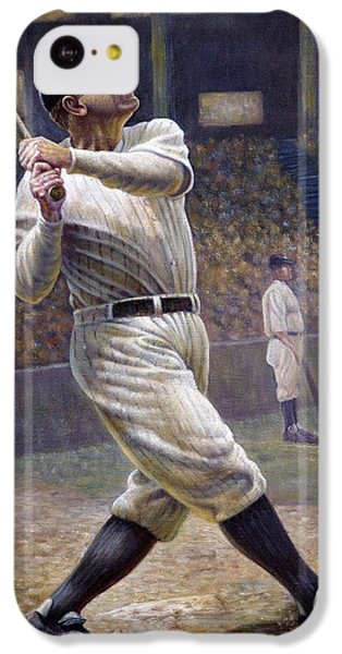 Babe Ruth IPhone 5c Case by Gregory Perillo