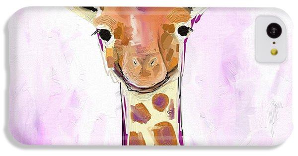 Baby Giraffe  IPhone 5c Case