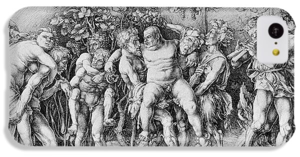 Bacchanal With Silenus - Albrecht Durer IPhone 5c Case by Daniel Hagerman