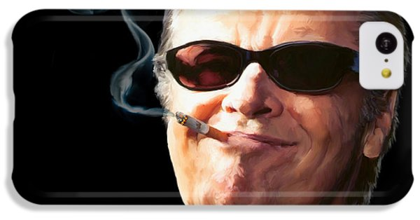 Jack Nicholson iPhone 5c Case - Bad Boy by Paul Tagliamonte