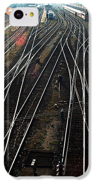 IPhone 5c Case featuring the photograph Bahnhof Cottbus by Marc Philippe Joly