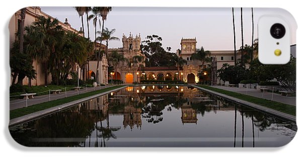 IPhone 5c Case featuring the photograph Balboa Park Reflection Pool by Nathan Rupert