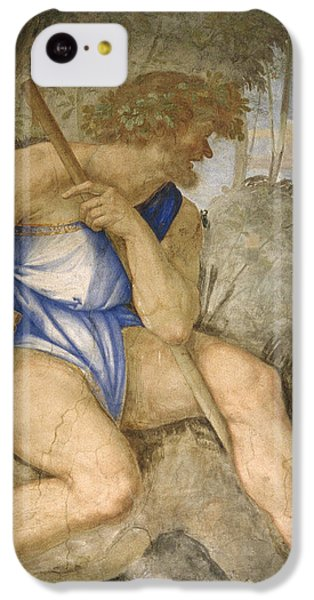 Baldassare Peruzzi 1481-1536. Italian Architect And Painter. Villa Farnesina. Polyphemus. Rome IPhone 5c Case