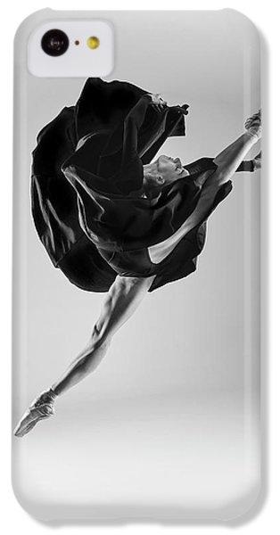 Flow iPhone 5c Case - Ballerina by Piotr Leczkowski