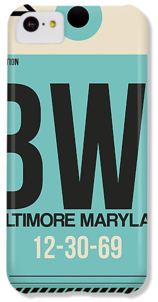 Baltimore Airport Poster 1 IPhone 5c Case