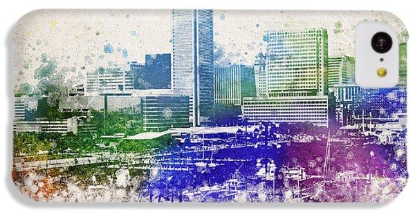 Baltimore City Skyline IPhone 5c Case