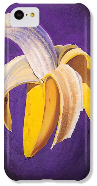 Banana Half Peeled IPhone 5c Case by Karl Melton