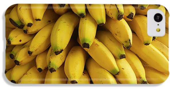 Belize iPhone 5c Case - Bananas At The Saturday Market, San by William Sutton