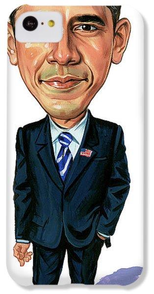 Barack Obama IPhone 5c Case by Art