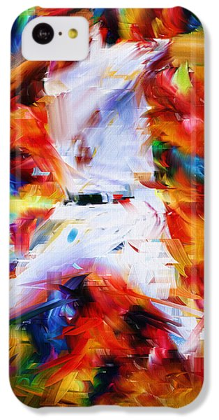 Baseball  I IPhone 5c Case by Lourry Legarde