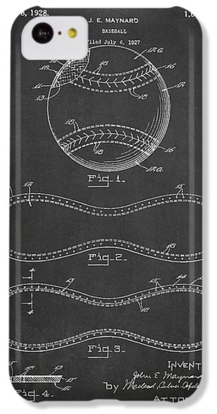 Baseball Patent Drawing From 1927 IPhone 5c Case