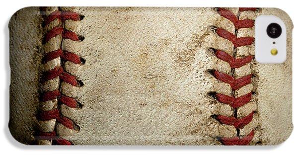 Baseball Seams IPhone 5c Case by David Patterson
