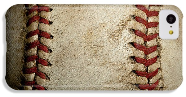 Baseball Seams IPhone 5c Case by David Patterson