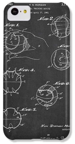Baseball Training Device Patent Drawing From 1961 IPhone 5c Case by Aged Pixel