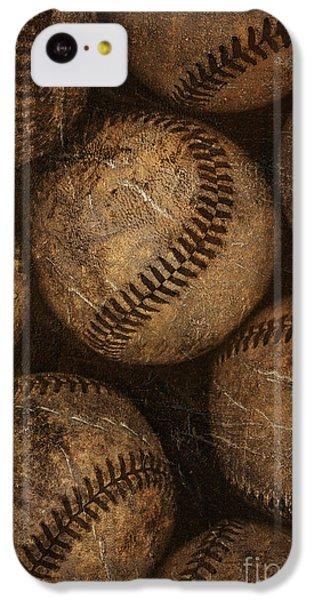 Baseballs IPhone 5c Case by Diane Diederich