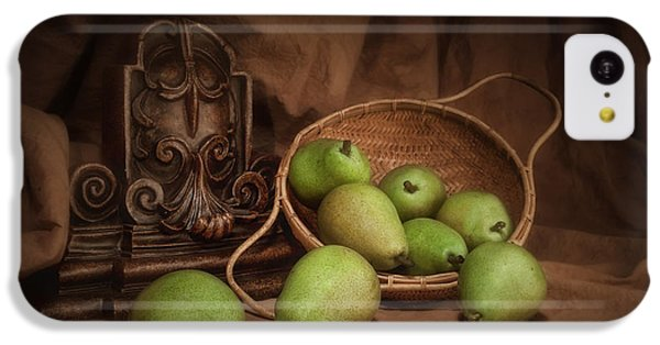 Basket Of Pears Still Life IPhone 5c Case by Tom Mc Nemar