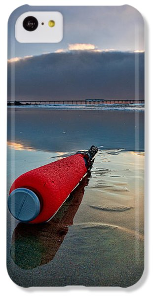 Batter-ed By The Sea IPhone 5c Case by Peter Tellone