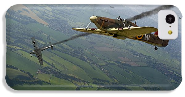 Battle Of Britain Dogfight IPhone 5c Case by Gary Eason
