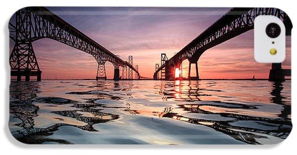 Bay Bridge Reflections IPhone 5c Case