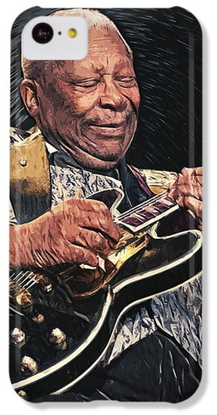 B.b. King II IPhone 5c Case by Taylan Apukovska