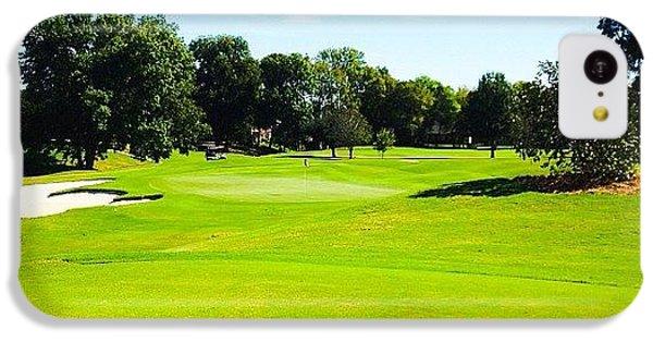 Sport iPhone 5c Case - Beautiful Day For Golf!! by Scott Pellegrin