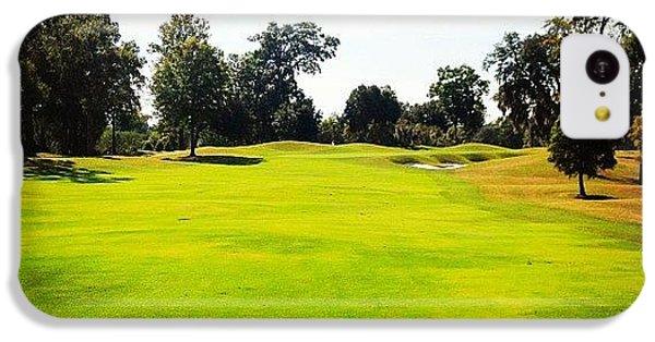 Sport iPhone 5c Case - Beautiful Day #golf #fairway#iphone5 by Scott Pellegrin