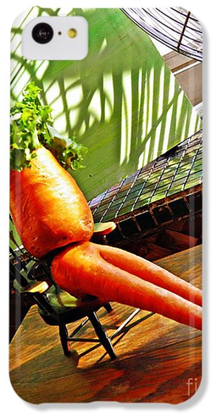 Beer Belly Carrot On A Hot Day IPhone 5c Case