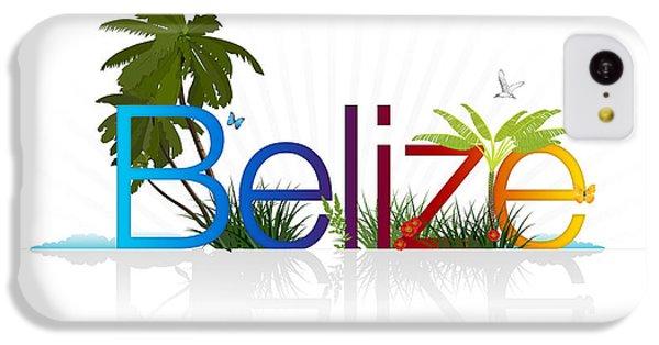 Crocodile iPhone 5c Case - Belize by Aged Pixel