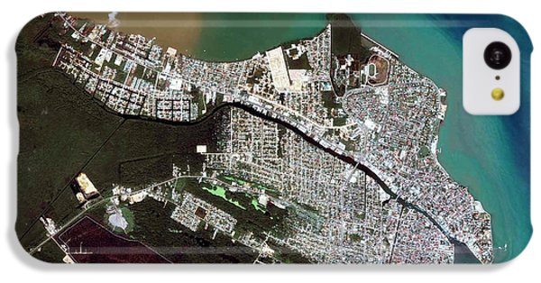 Belize iPhone 5c Case - Belize City by Geoeye/science Photo Library