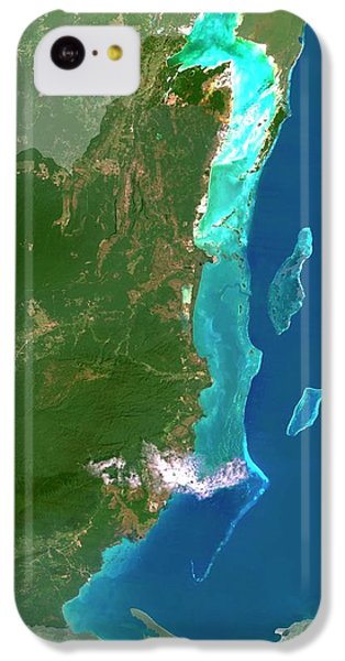 Belize iPhone 5c Case - Belize by Planetobserver/science Photo Library