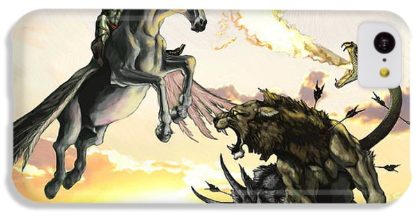Bellephron Slays Chimera IPhone 5c Case