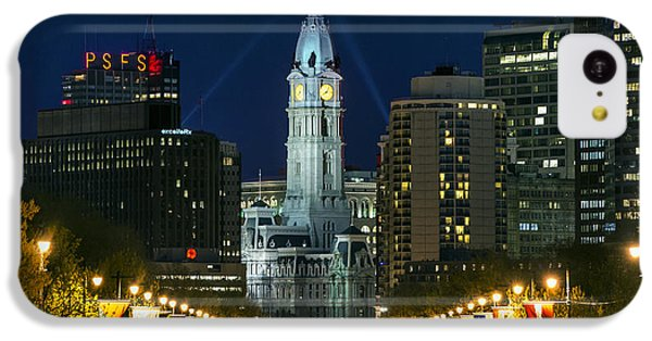 Ben Franklin Parkway And City Hall IPhone 5c Case