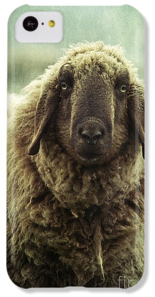 Sheep iPhone 5c Case - Besch Da Pader by Priska Wettstein