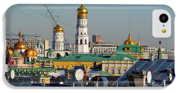 Moscow Skyline iPhone 5c Case - Beyond The Rooftops 2 by Anna Yurasovsky