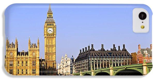 Big Ben And Westminster Bridge IPhone 5c Case by Elena Elisseeva