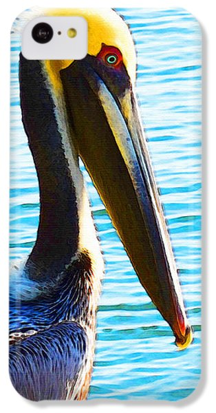 Big Bill - Pelican Art By Sharon Cummings IPhone 5c Case by Sharon Cummings