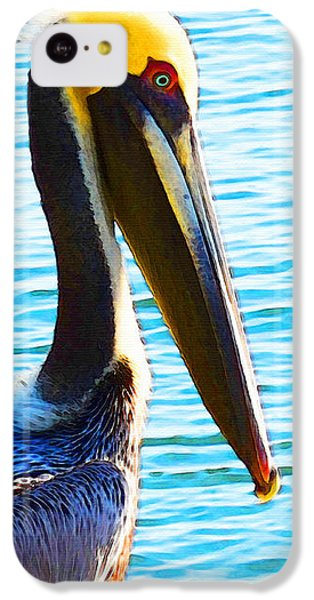 Big Bill - Pelican Art By Sharon Cummings IPhone 5c Case
