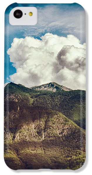 Big Clouds Over The Alps IPhone 5c Case by Silvia Ganora