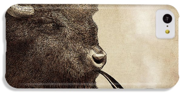 Animals iPhone 5c Case - Big Smoke by Eric Fan