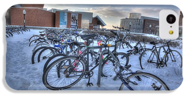 Bikes At University Of Minnesota  IPhone 5c Case by Amanda Stadther