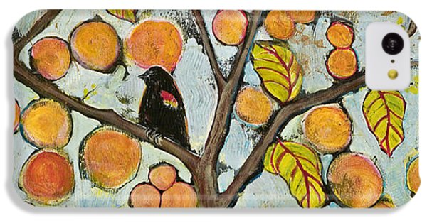 Birds In Paris Landscape IPhone 5c Case by Blenda Studio