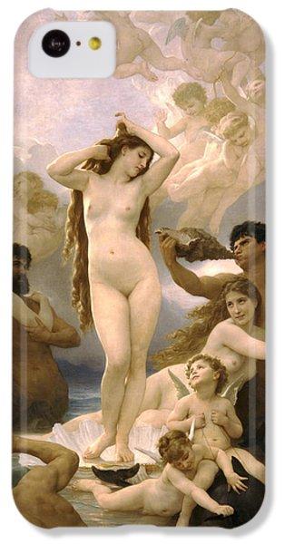 Birth Of Venus IPhone 5c Case by William Bouguereau