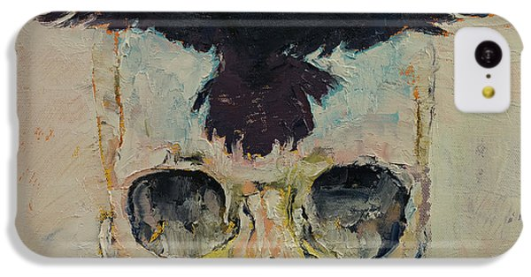 Black Crow IPhone 5c Case by Michael Creese