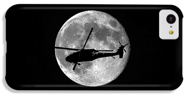 Black Hawk Moon IPhone 5c Case