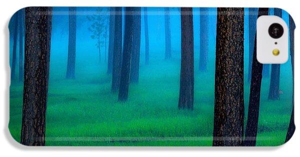 Beautiful Sunrise iPhone 5c Case - The Black Hills Forest by Kadek Susanto